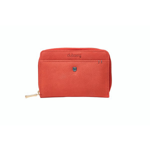 Portrush Leather Wallet Coral