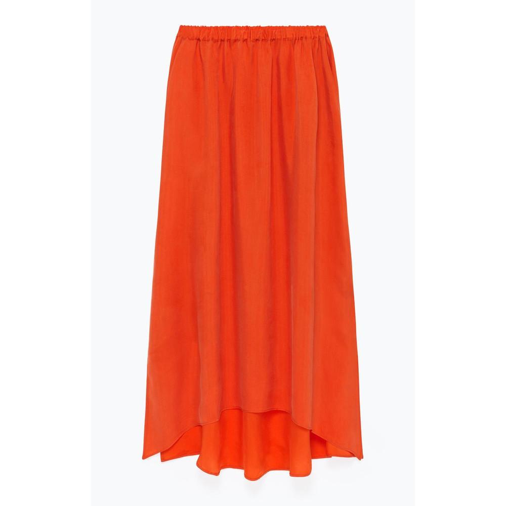 American Vintage Nonogarden Long Skirt Flame