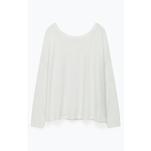 Vetington Loose L/S  Fit Top White