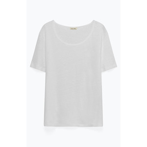 Lolosister S/S Round Nck Top White