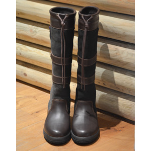 Dubarry Galway Boot in Black/Brown