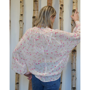 Essentiel Antwerp Swoon Big Raglan Long Sleeve Top Pink