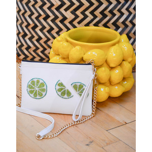 The Limes Crossbody White