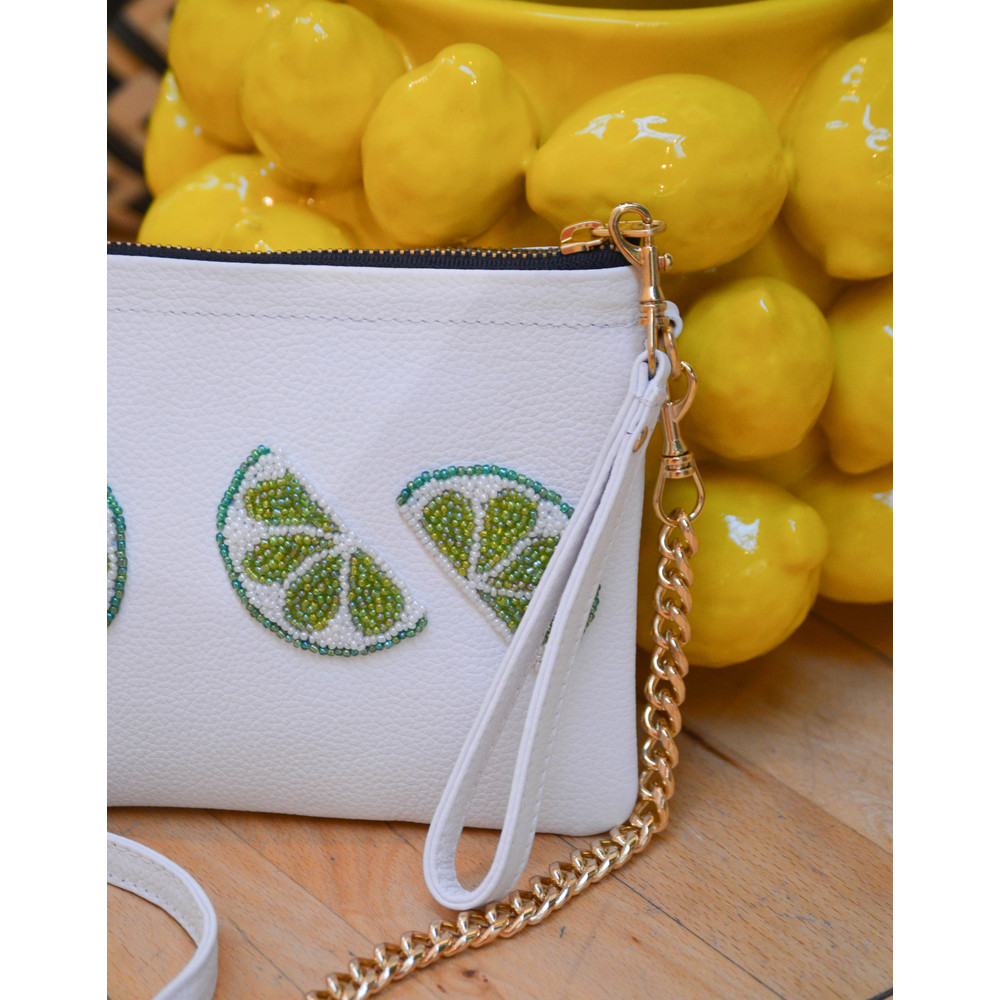 Tea & Tequila The Limes Crossbody White