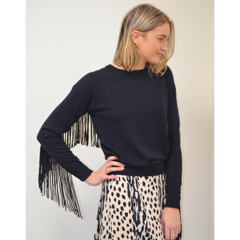 Essentiel Antwerp Saopaulo Round Neck Knit Navy