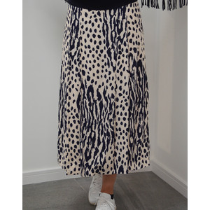 Sturdy Long Wrap Skirt Off White