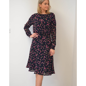 Swaffel Long Sleeve Floral Dress Blue/Multi