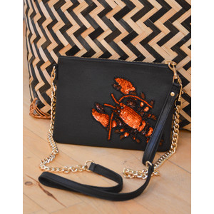 Lobster Crossbody Black