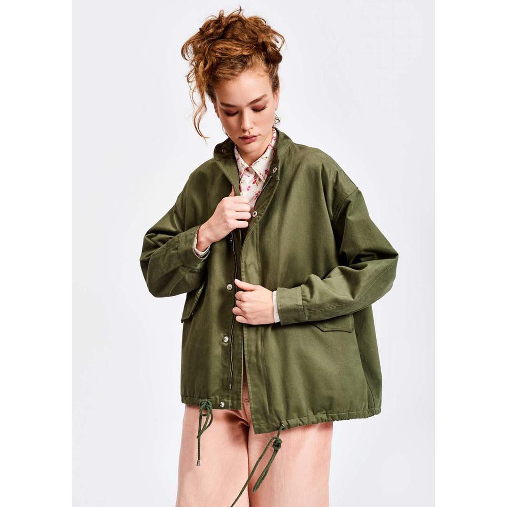 Essentiel Antwerp Sevdaliza Sequin Heart jacket Dark Green