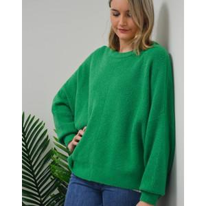 Wopy Round Collar Knit Lawn
