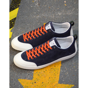 Sharma Suede Trainer Dark Navy