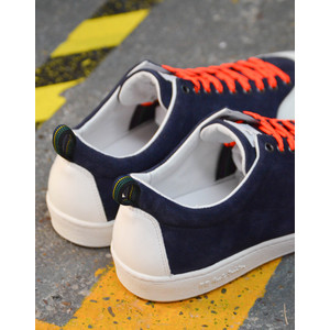 Paul Smith Shoes Sharma Suede Trainer Dark Navy