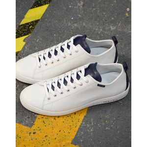 Miyata W/Blue Tongue Trainer White/Blue