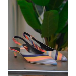 Ozella Swirl Low Heel Shoe Multicolour
