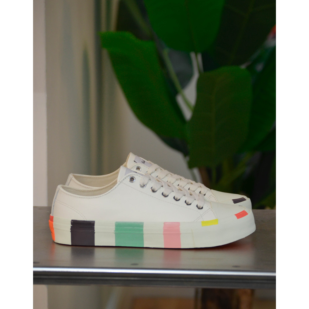 Paul Smith Shoes Nolan White Trainer White/Multi