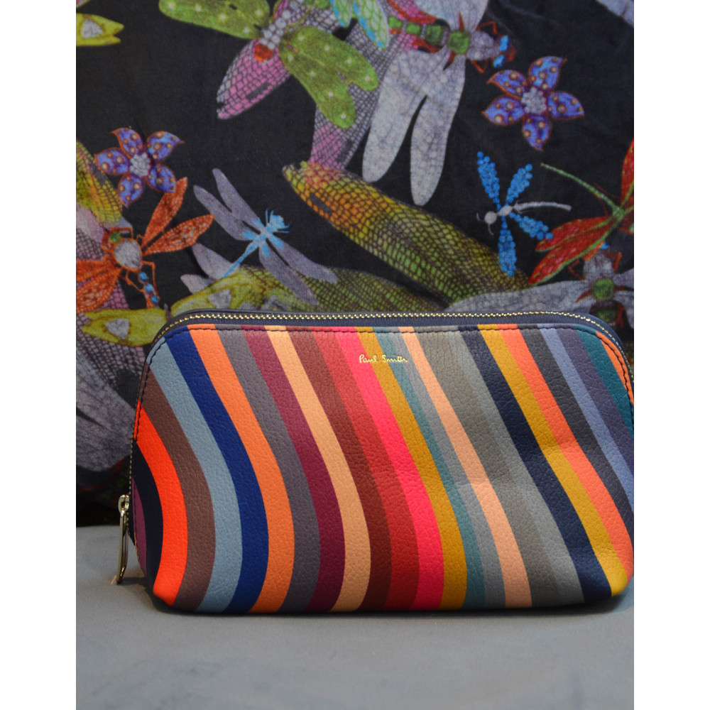 Paul Smith Accessories Swirl Make Up Bag Multicolour