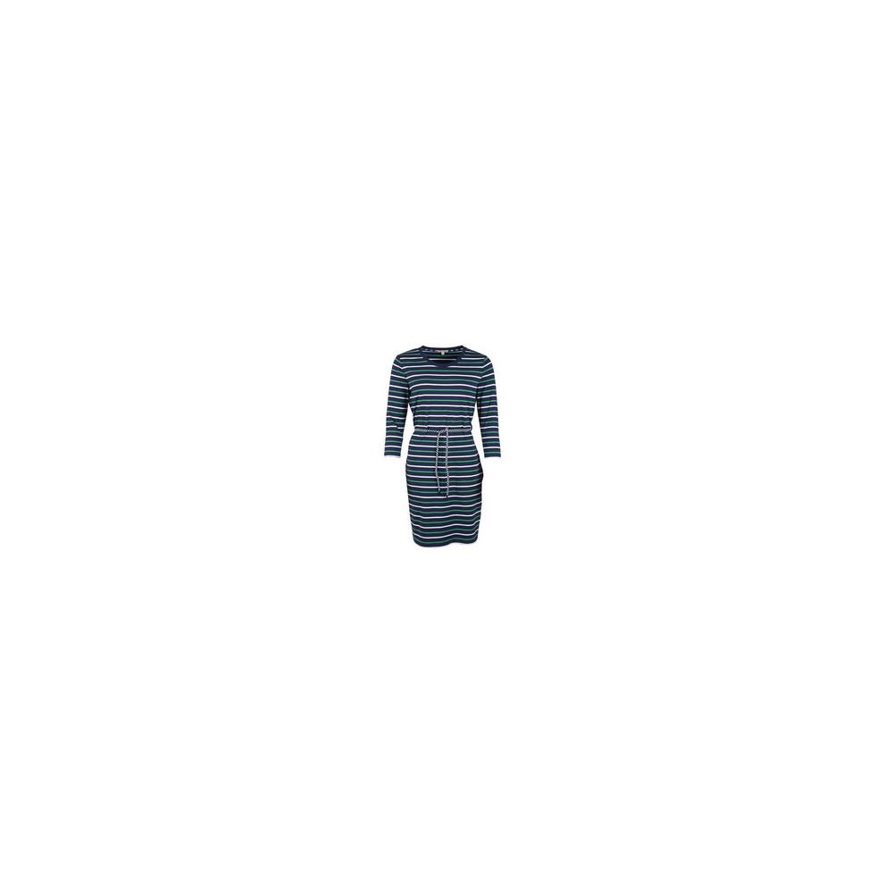 Barbour Applecross Long Sleeve Dress Navy/Cloud