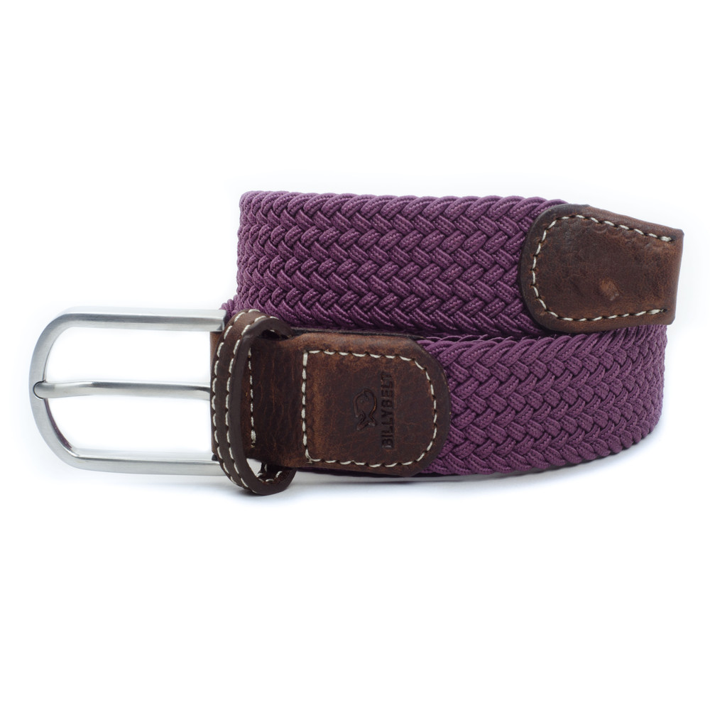Billybelt The Braided Belt Aubergine