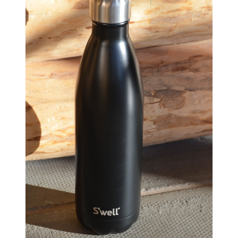 Swell Satin Bottle Flask Insulated London Chimney