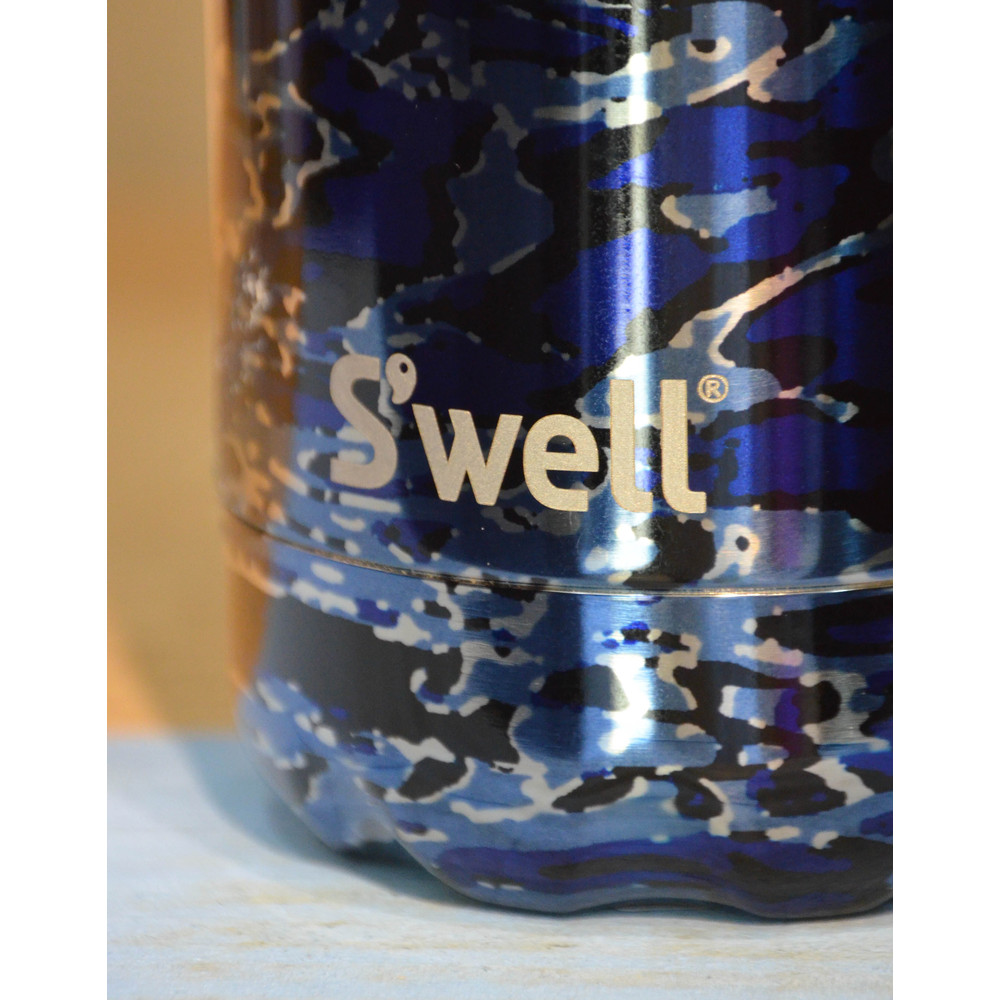 Swell Original Flask Clandestine Blue
