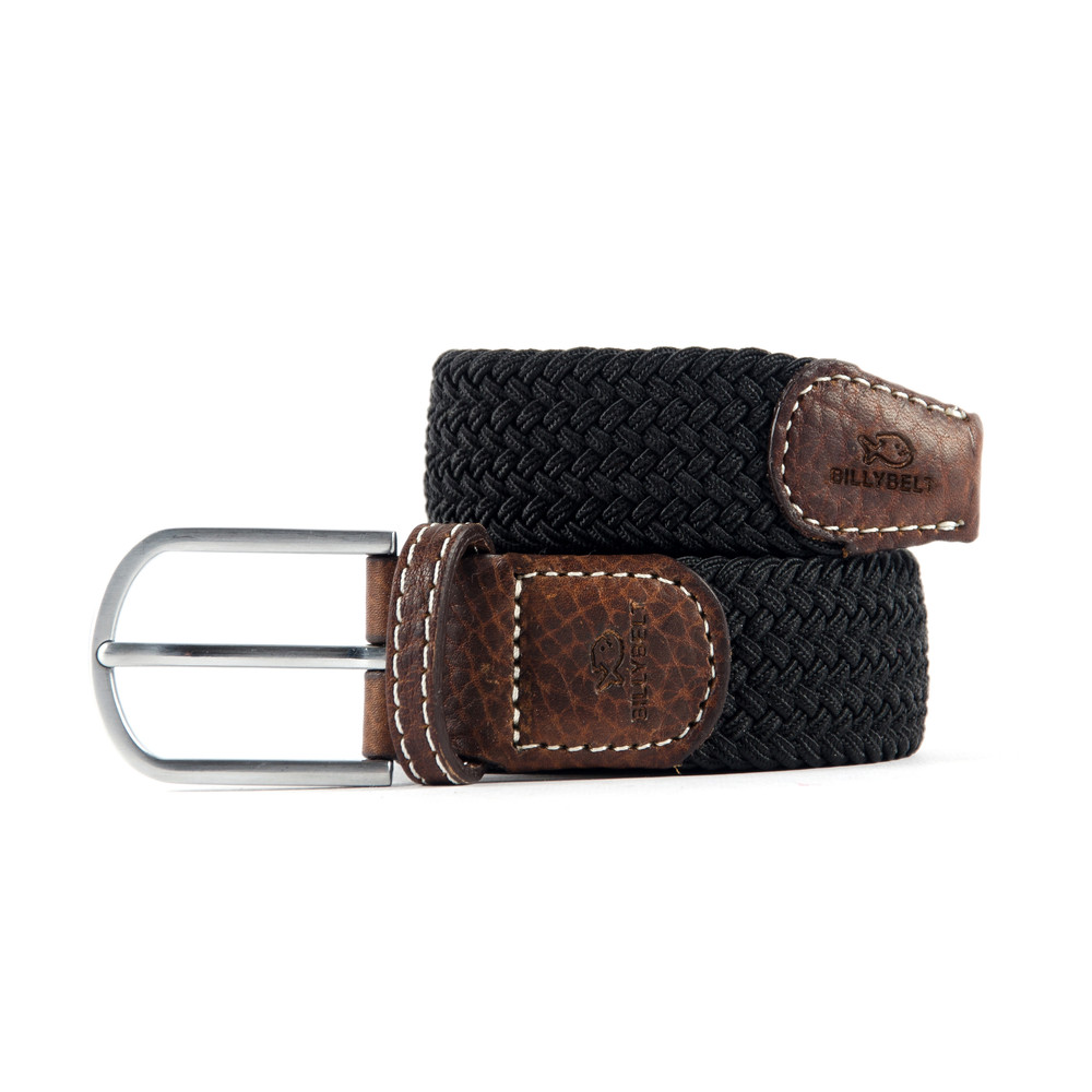 Billybelt The Braided Belt Black Licorice