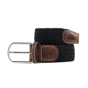 Billybelt The Braided Belt in Black Licorice