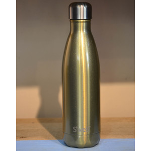 Glitter Bottle Flask Sparkling Champagne