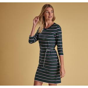 Applecross Long Sleeve Dress Navy/Cloud