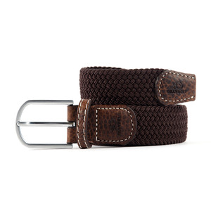 The Braided Belt Brown Leaf
