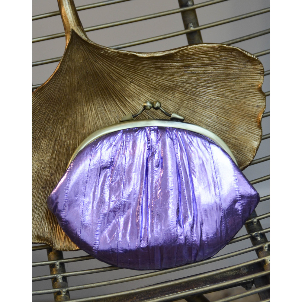 Becksondergaard Granny Purse Metallic Violet Tulip