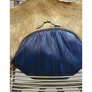 Granny Purse Navy Blue