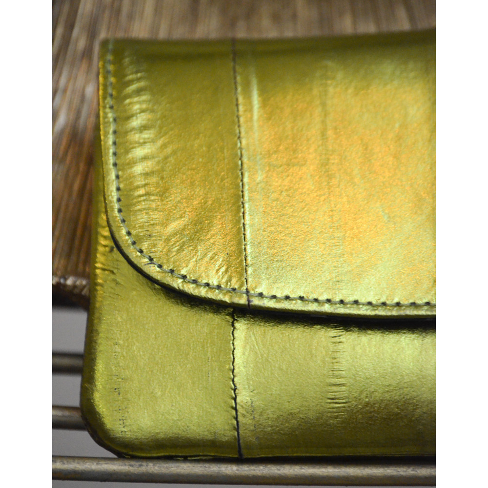 Beck Sondergaard Handy Rainbow Purse Lime Green