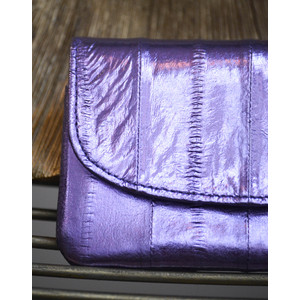 Beck Sondergaard Handy Purse Metallic Violet Tulip