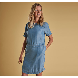 Barbour Seaward Dress Light Wash