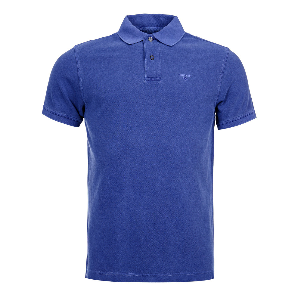 Barbour Washed Sports Polo Navy