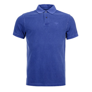 Washed Sports Polo Navy