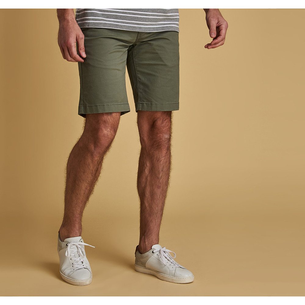 Barbour Performance Neuston Shorts Light Olive