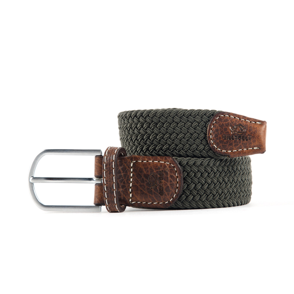 Billybelt The Braided Belt Khaki