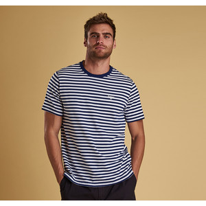 Delamere Stripe Tee-Tailored Inky Blue