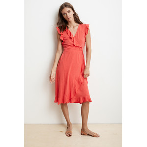 Sedona Short Sleeve Wrap Dress Jester