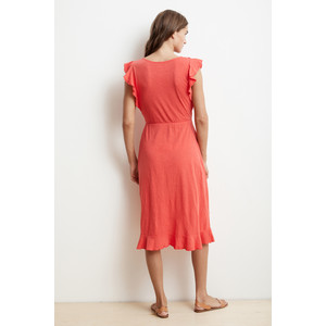 Velvet Sedona Short Sleeve Wrap Dress Jester