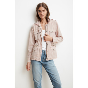 Ruby Army Jacket Ballet Pink