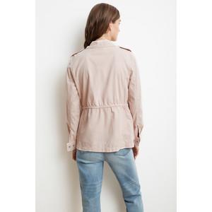 Velvet Ruby Army Jacket Ballet Pink