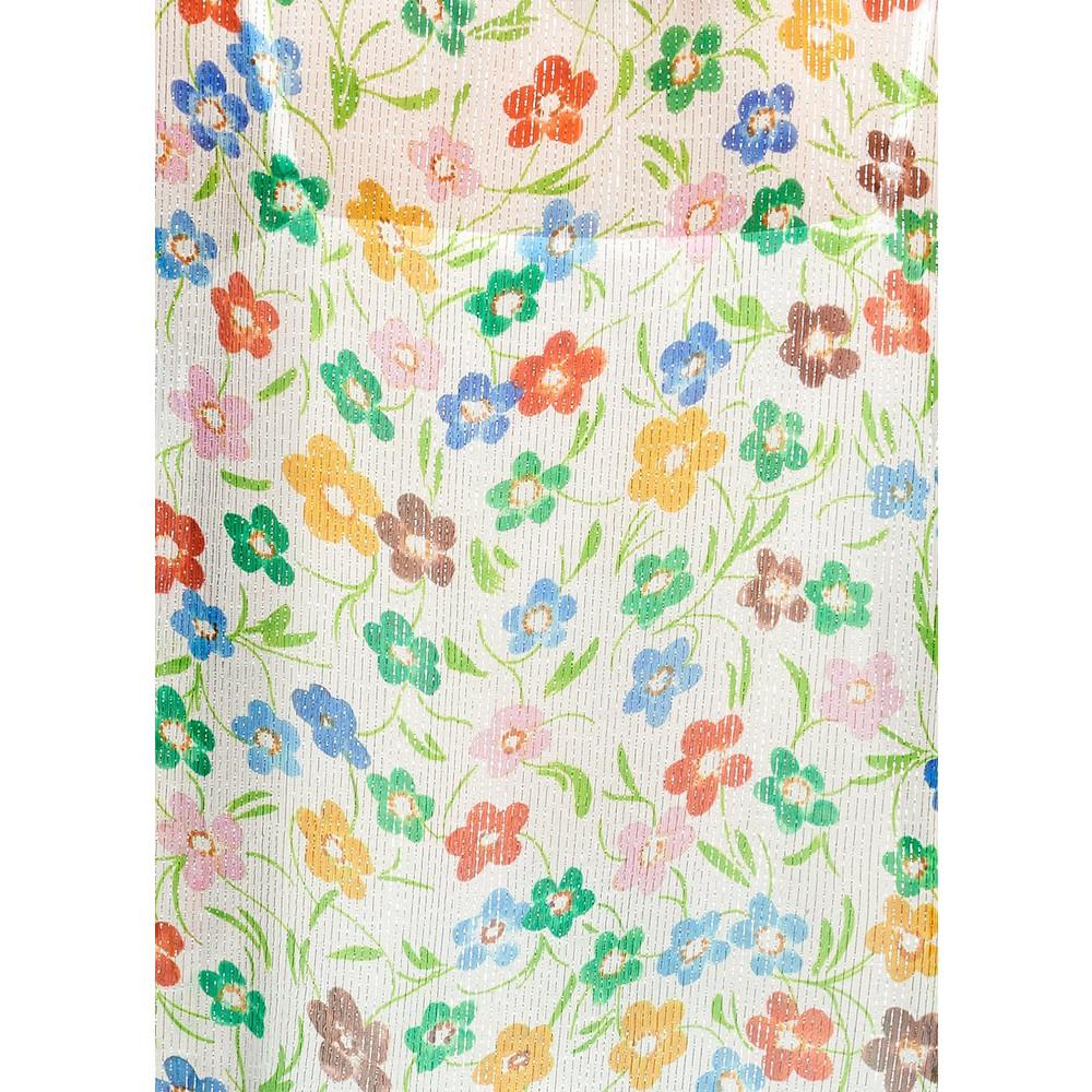 Essentiel Antwerp Saleisha Oversized Floral Top Off White
