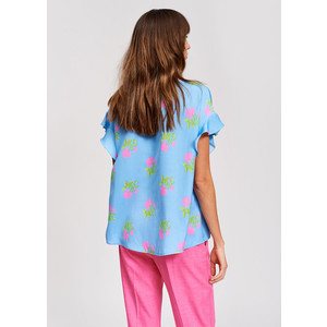 Essentiel Antwerp Saraha Oversized Short Sleeve Top Honolulu