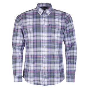 Barbour Oxford Check 2 Shirt-Tailored White/Multi
