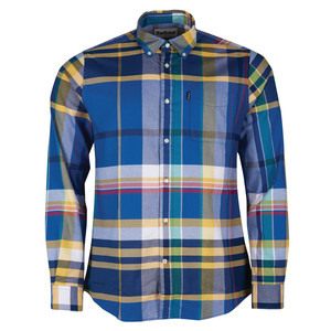 Barbour Highland 2 Shirt - Tailored Mid Blue/Multi