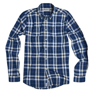 Indigo 4 Shirt-Tailored Fit Indigo/White