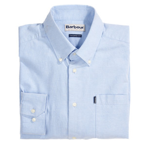 Stanley Oxford Shirt-Tailored Blue