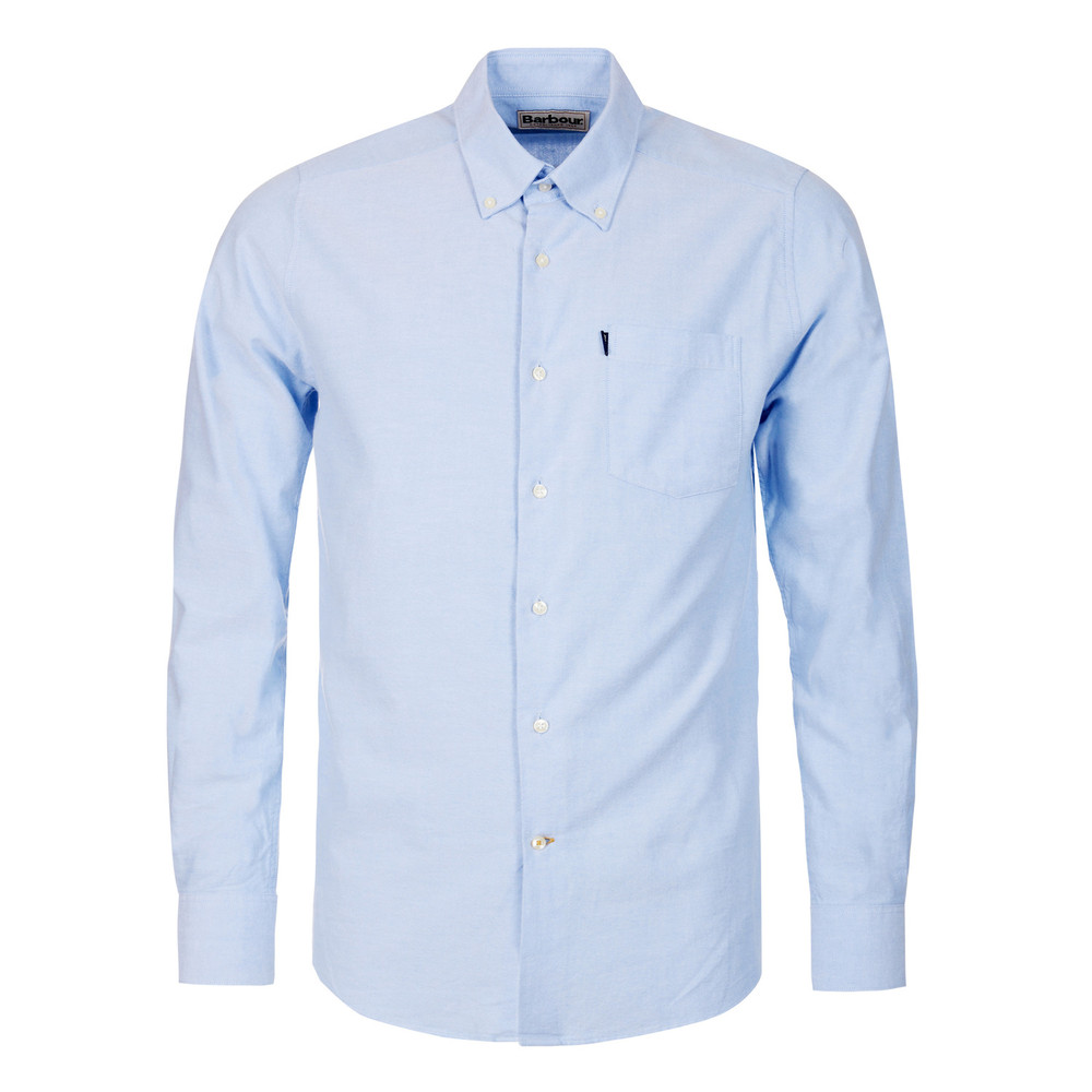 Barbour Stanley Oxford Shirt-Tailored Blue